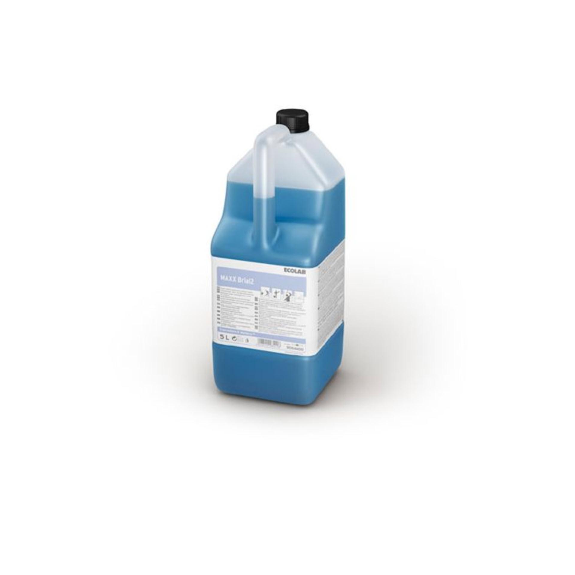 Ecolab MAXX Brial 2  Glas- und Oberflächenreiniger - 5 Liter Kanister
