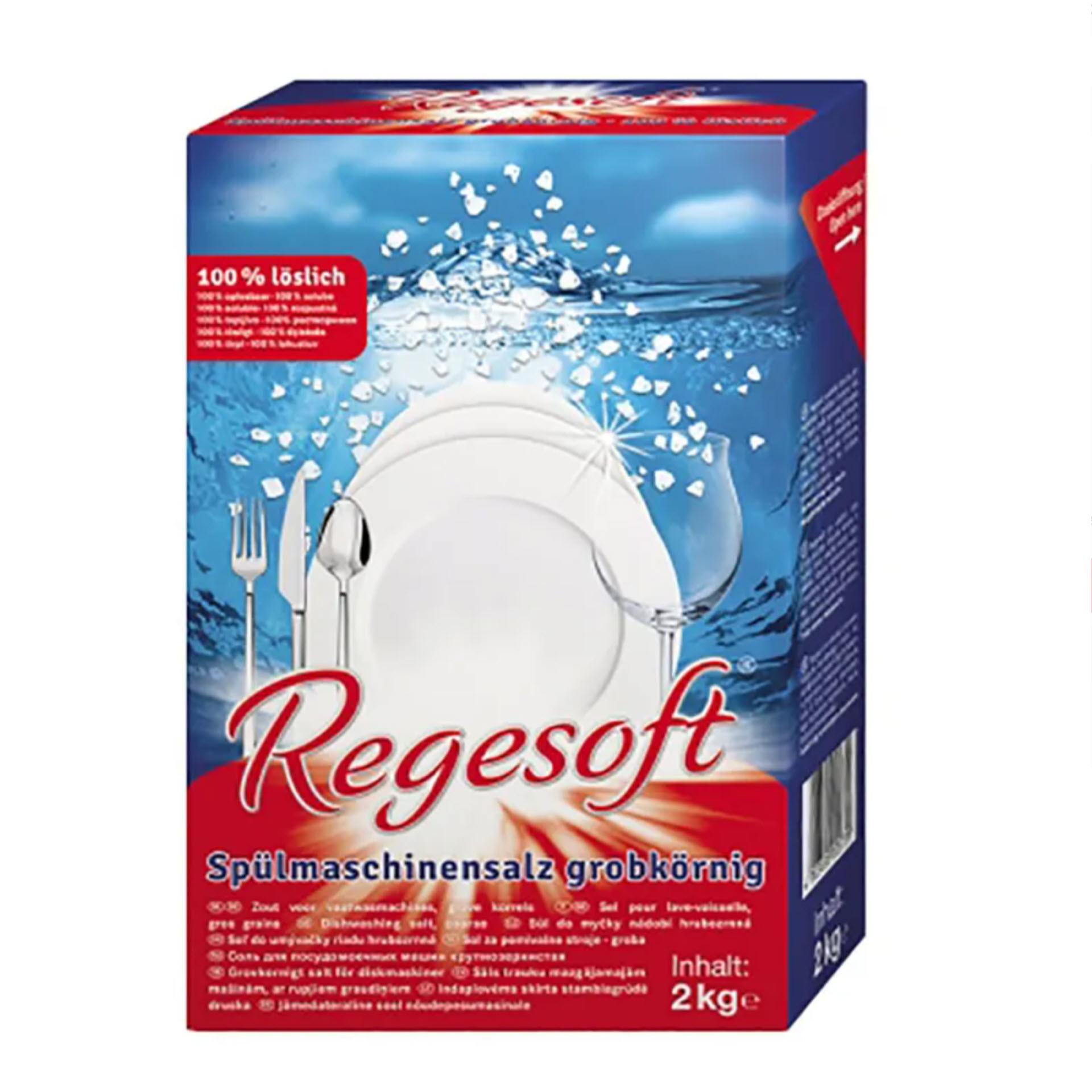 Esco Regesoft® Spülmaschinensalz grobkörnig 2 kg Faltkarton