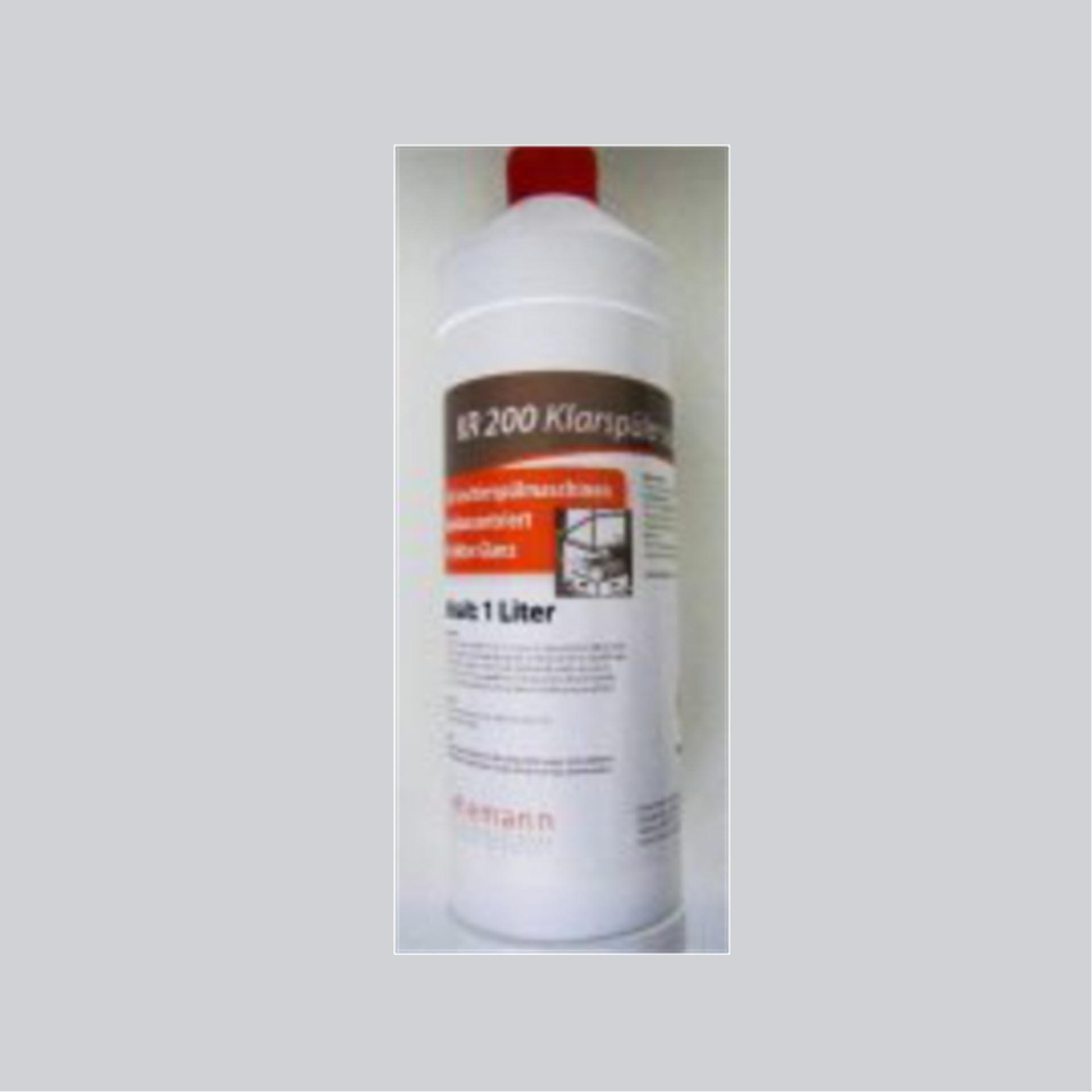 KR 200 Klarspüler sauer - 1 Liter Rundflasche