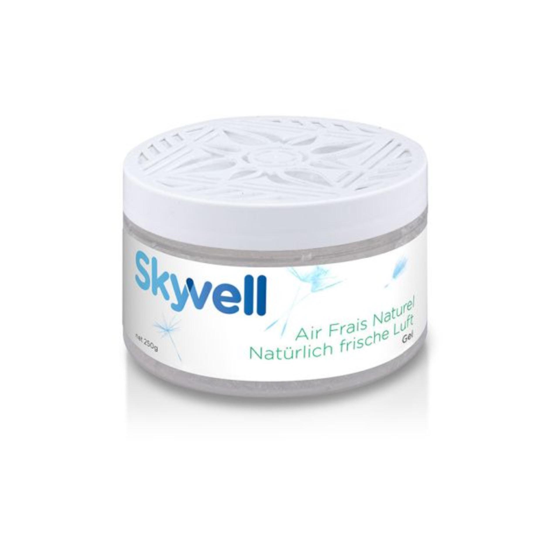 Skyvell Gel  Geruchsneutralisator mit natürlichen Inhaltsstoffen - 250 g Dose