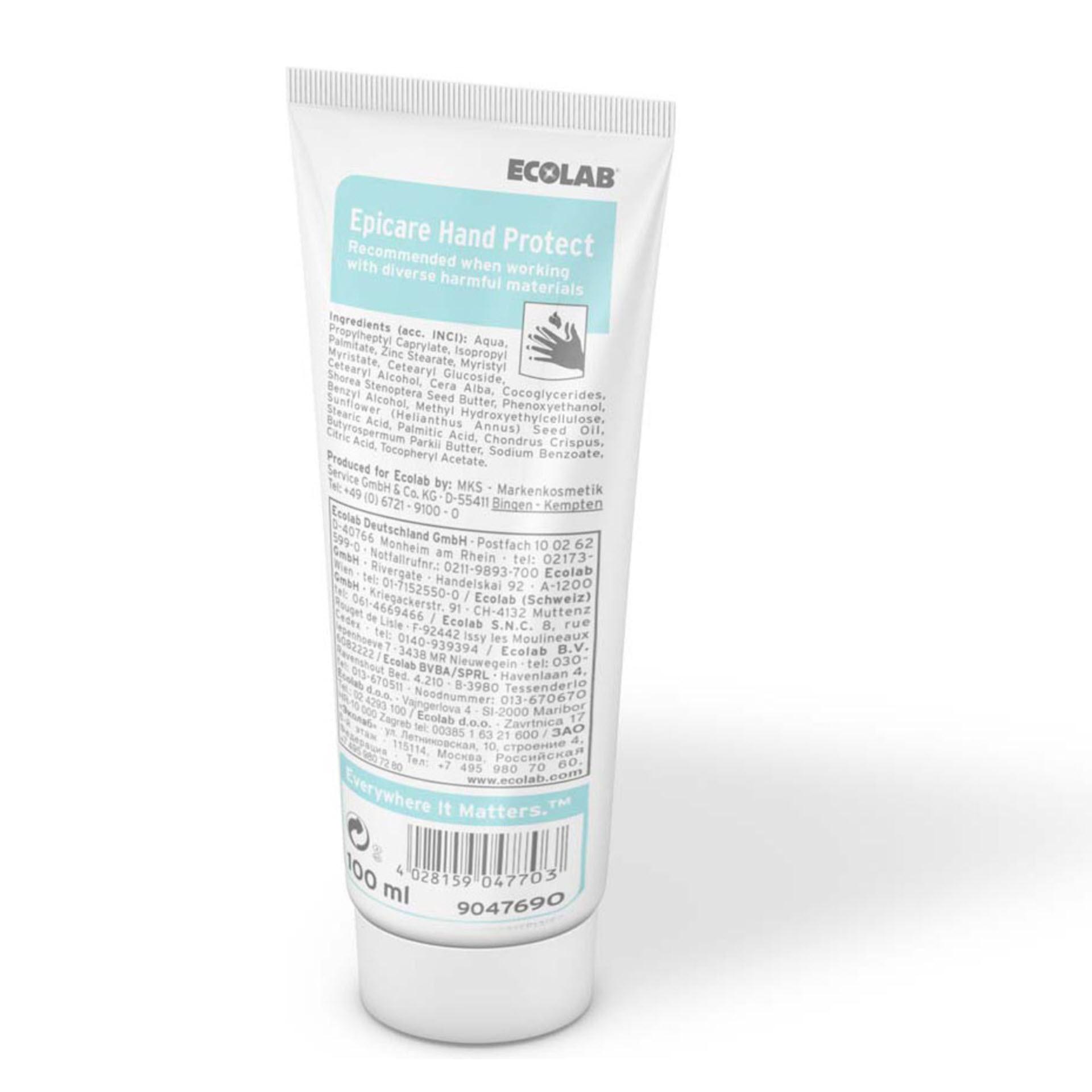 ECOLAB Epicare Hand Protect Hautschutzcreme - 100 ml Tube