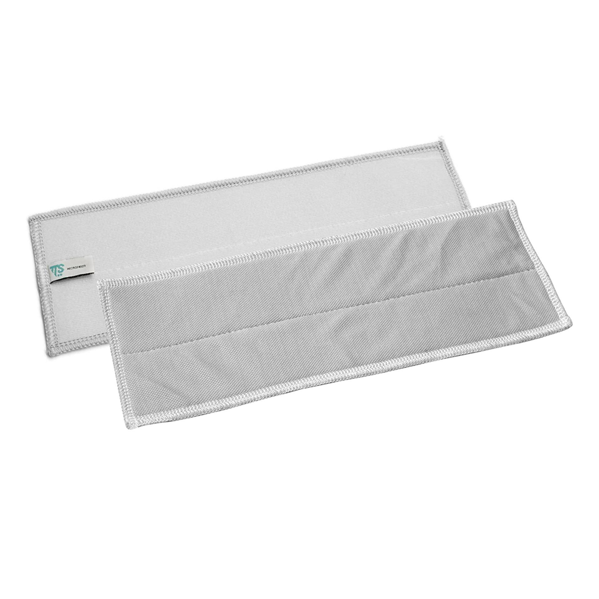 TTS Clean Glass Microbezug / Klettbezug 32x10,5cm grau