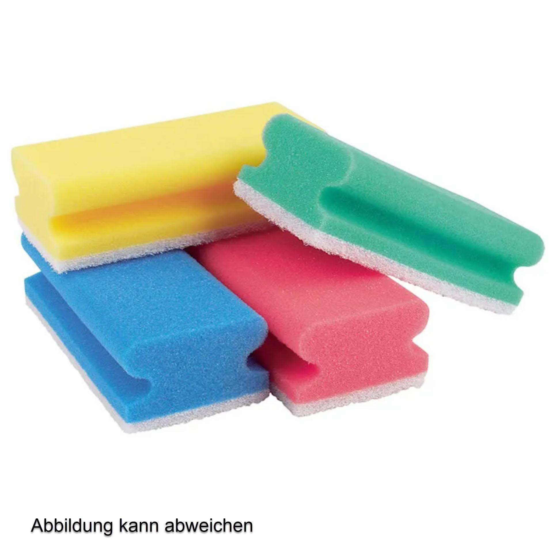 Mobiloclean Padschwamm / Putzschwamm kratzfrei 150x70x45mm - Pack mit 10 Stück