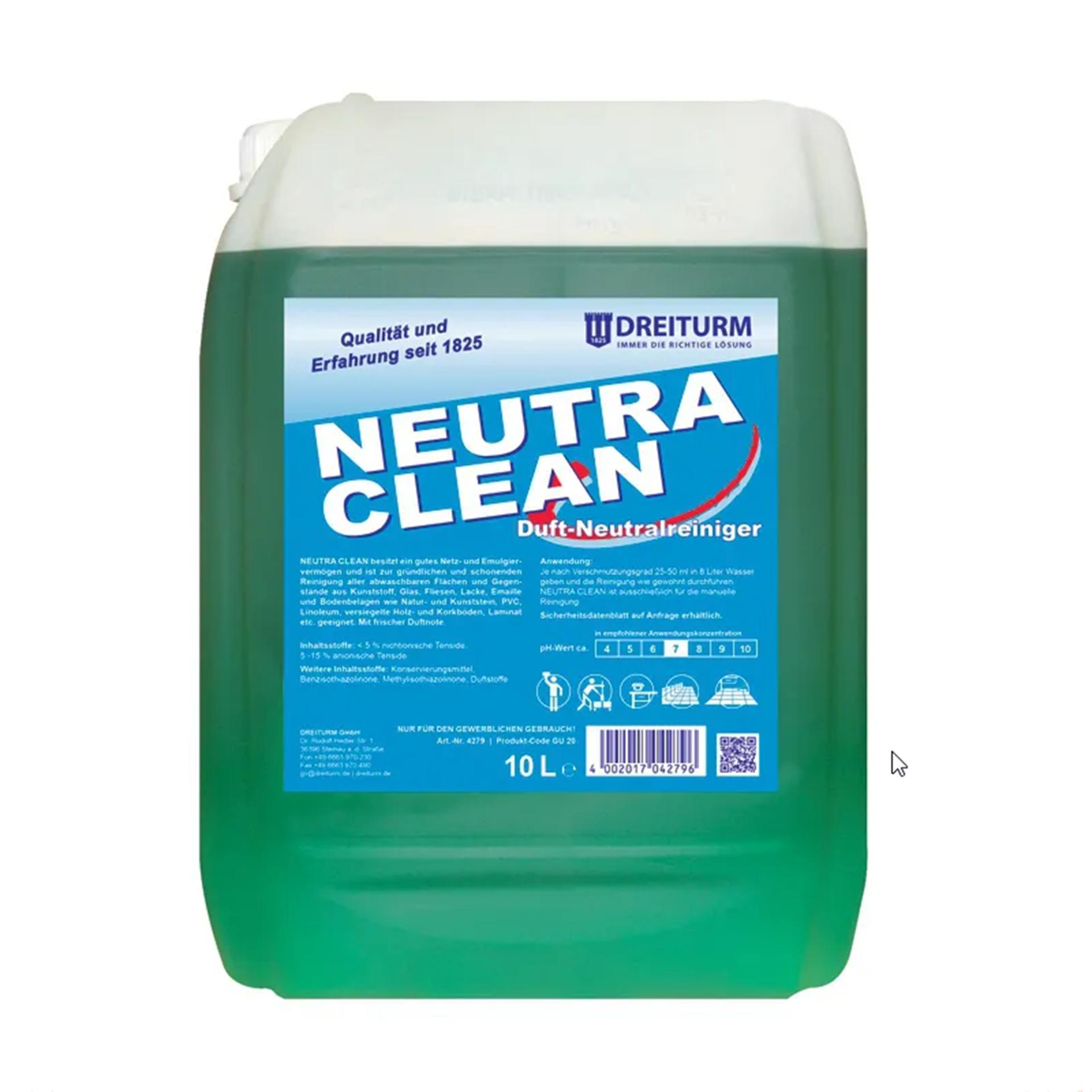 Dreiturm NEUTRA CLEAN Neutralreiniger - 10 l - Kanister