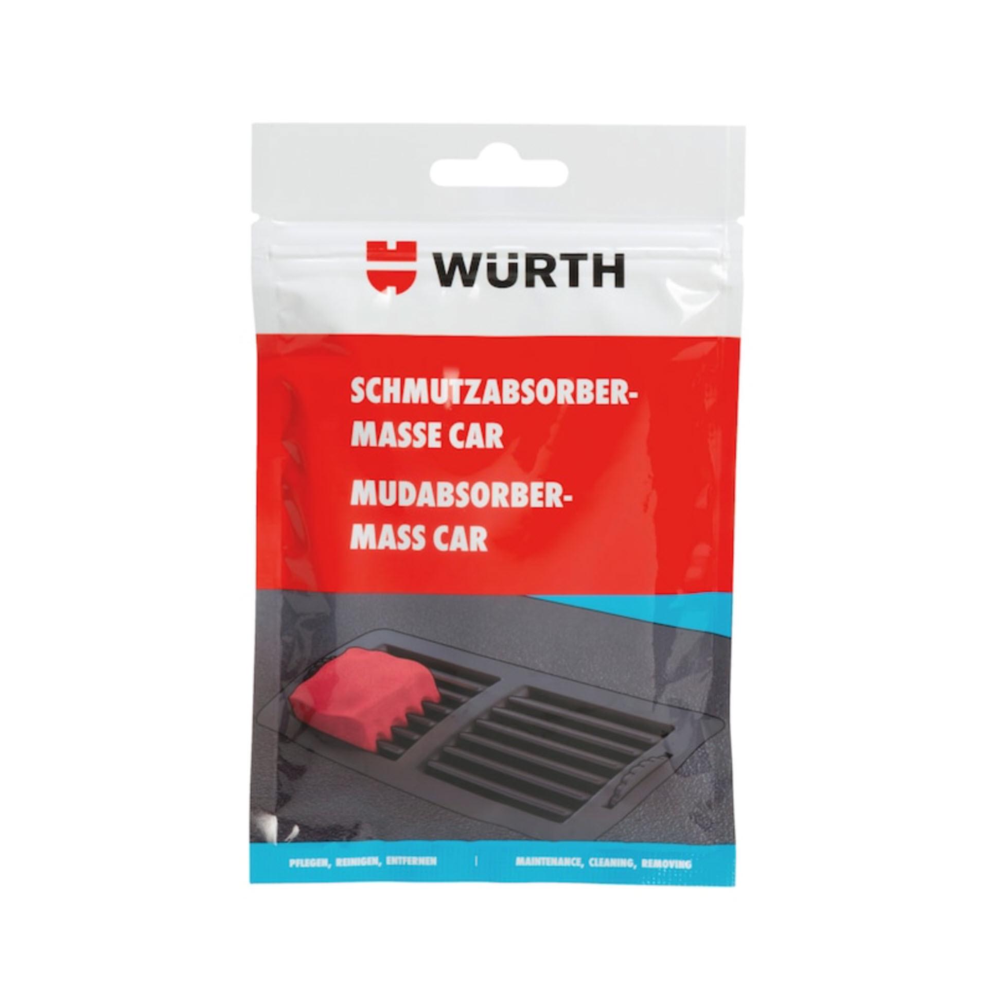 Würth Schmutzabsorber-Masse-Car - 100 g Beutel