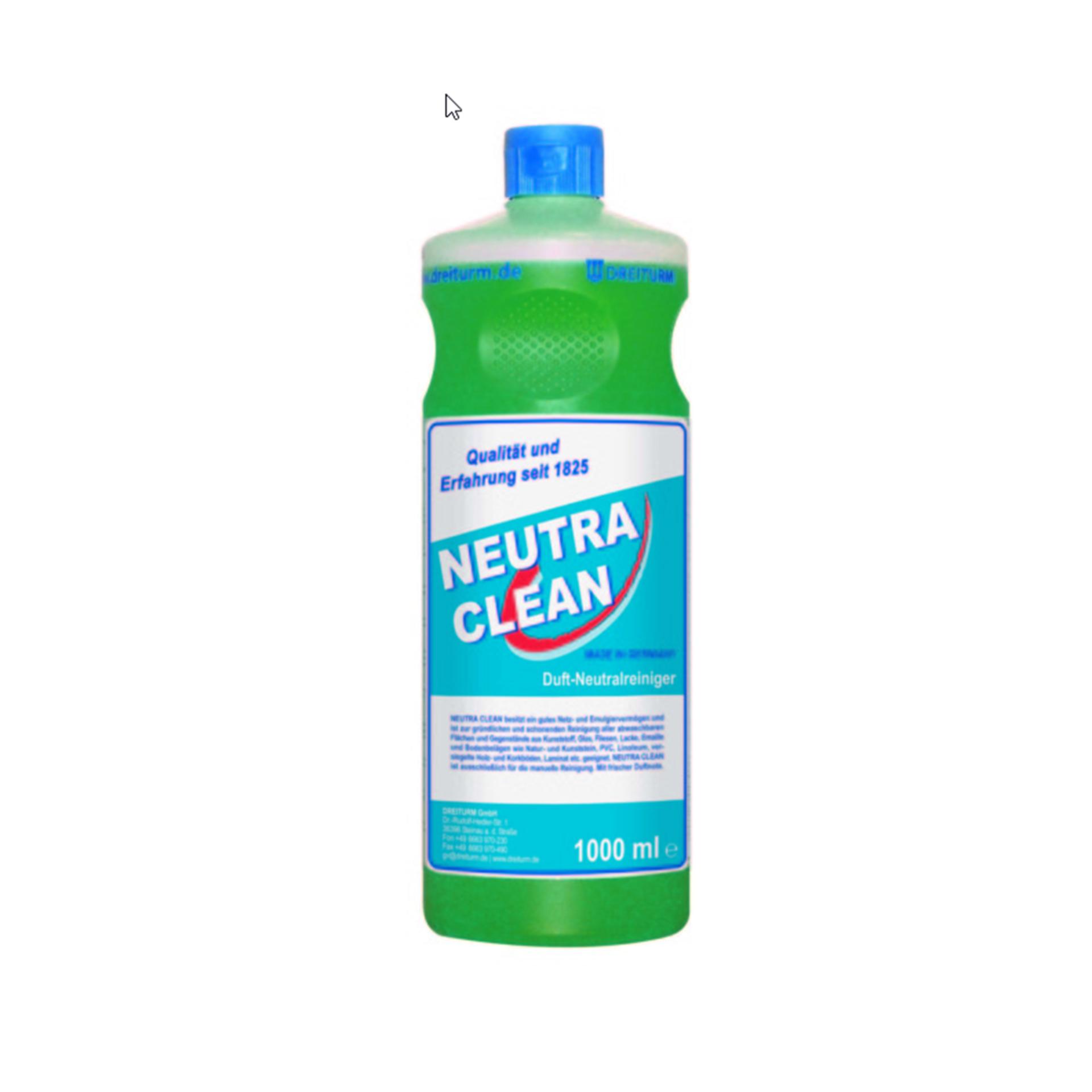 Dreiturm NEUTRA CLEAN Neutralreiniger - 1 l - Rundflasche