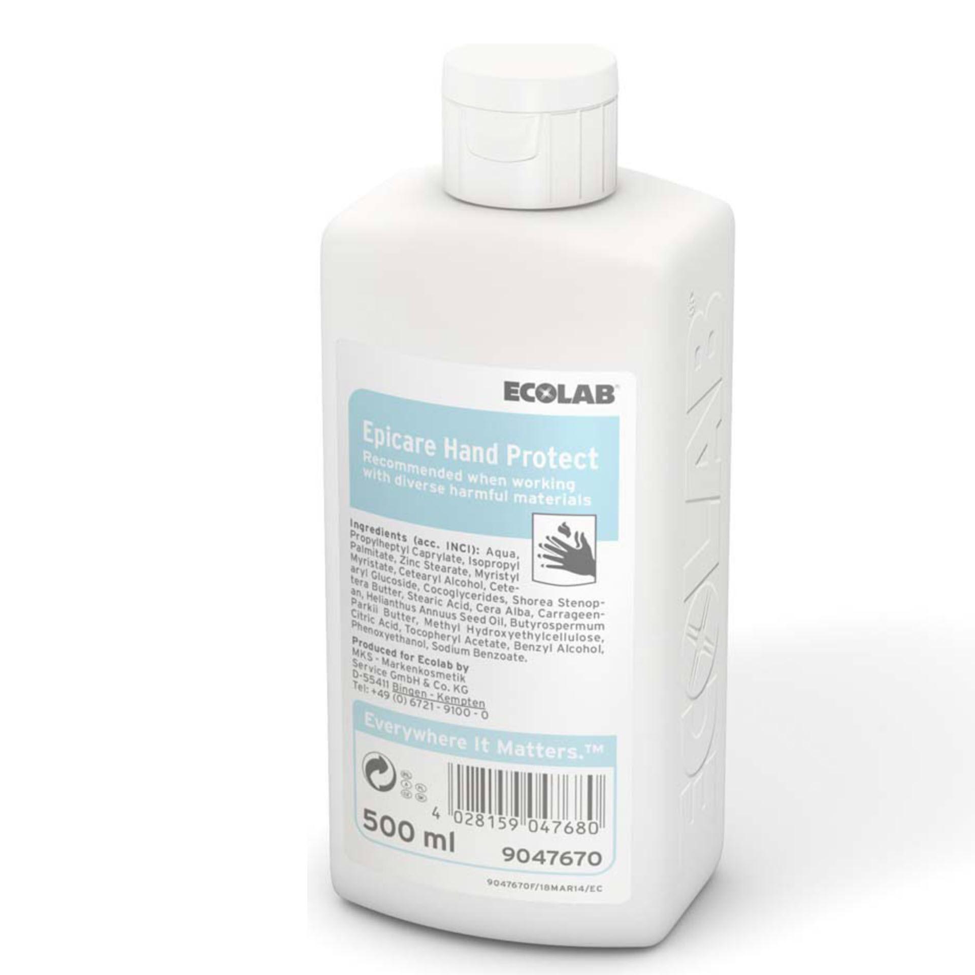 ECOLAB Epicare Hand Protect Hautschutzcreme - 500 ml Flasche