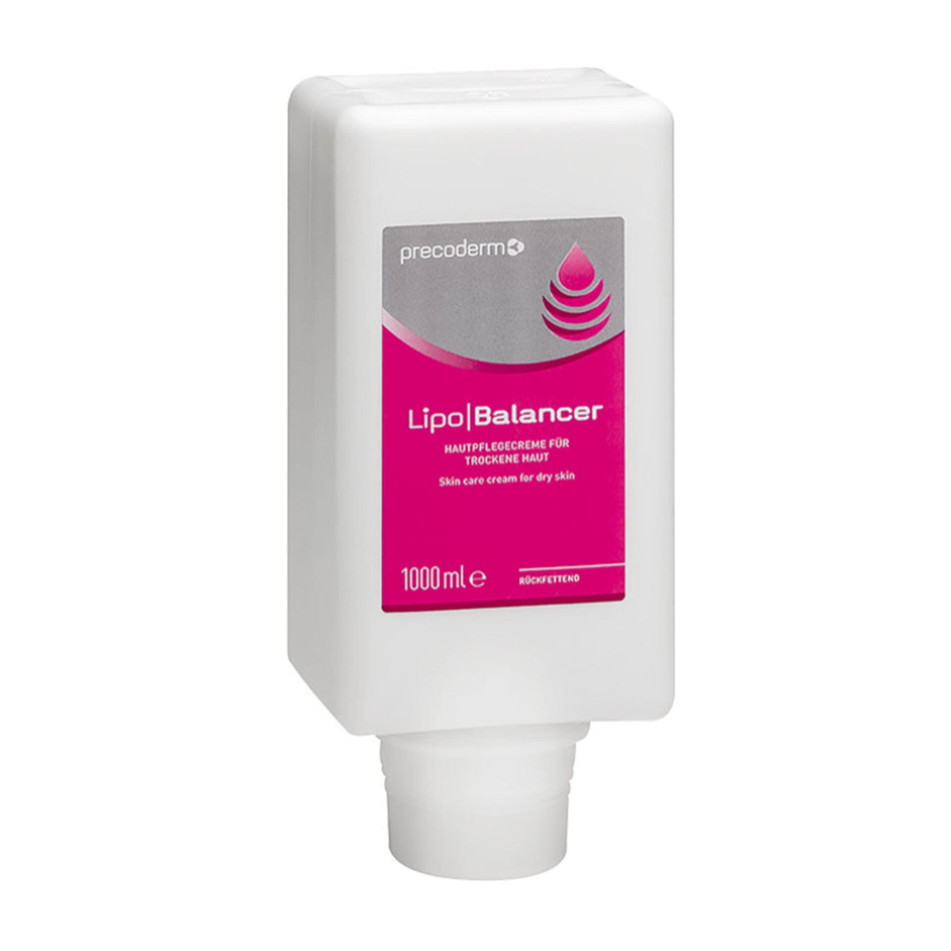 Azett Lipobalancer Hautpflegecreme - 1.000 ml Softflasche- 915000021