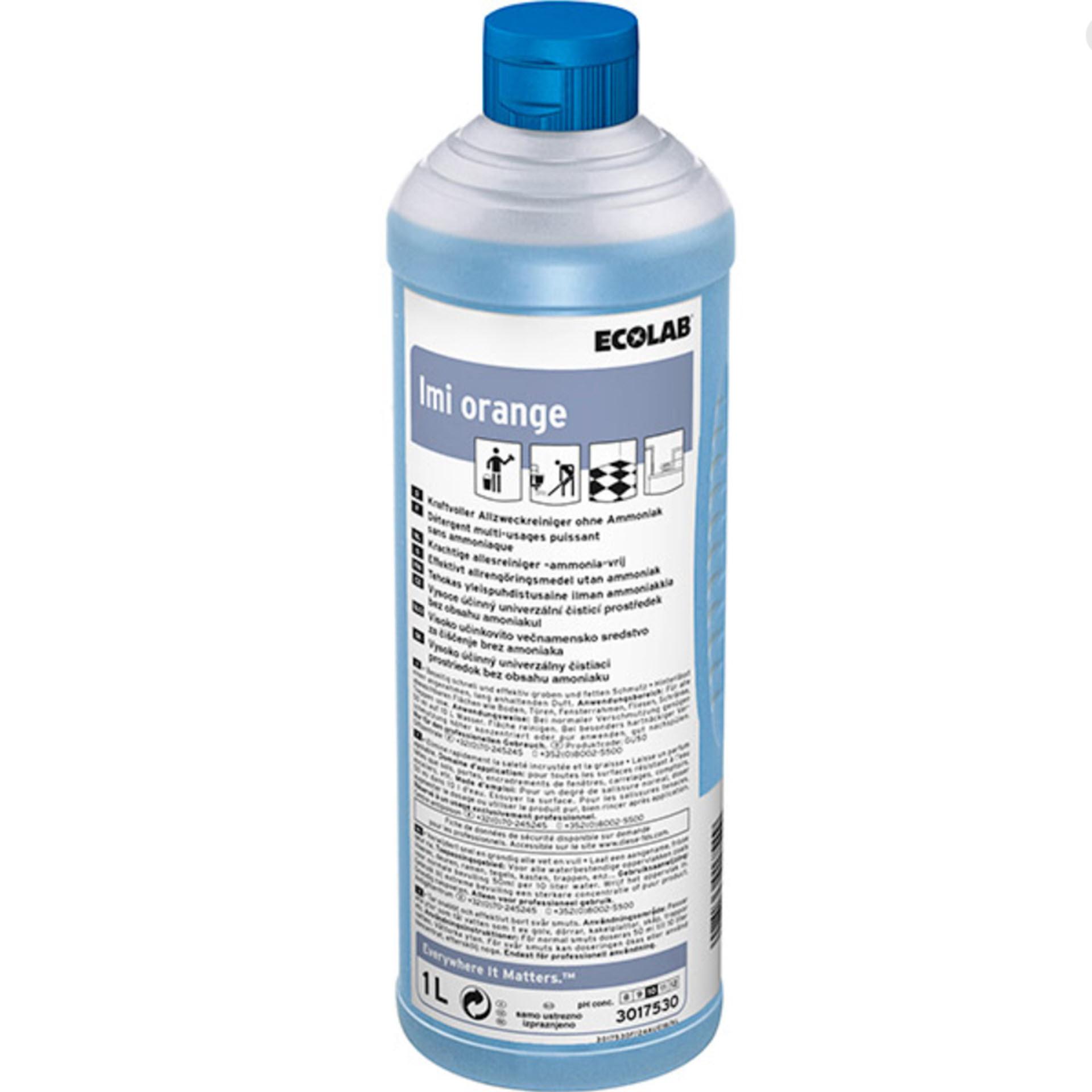 ECOLAB Imi® Orange Allzweckreiniger - 1 Liter Rundflasche