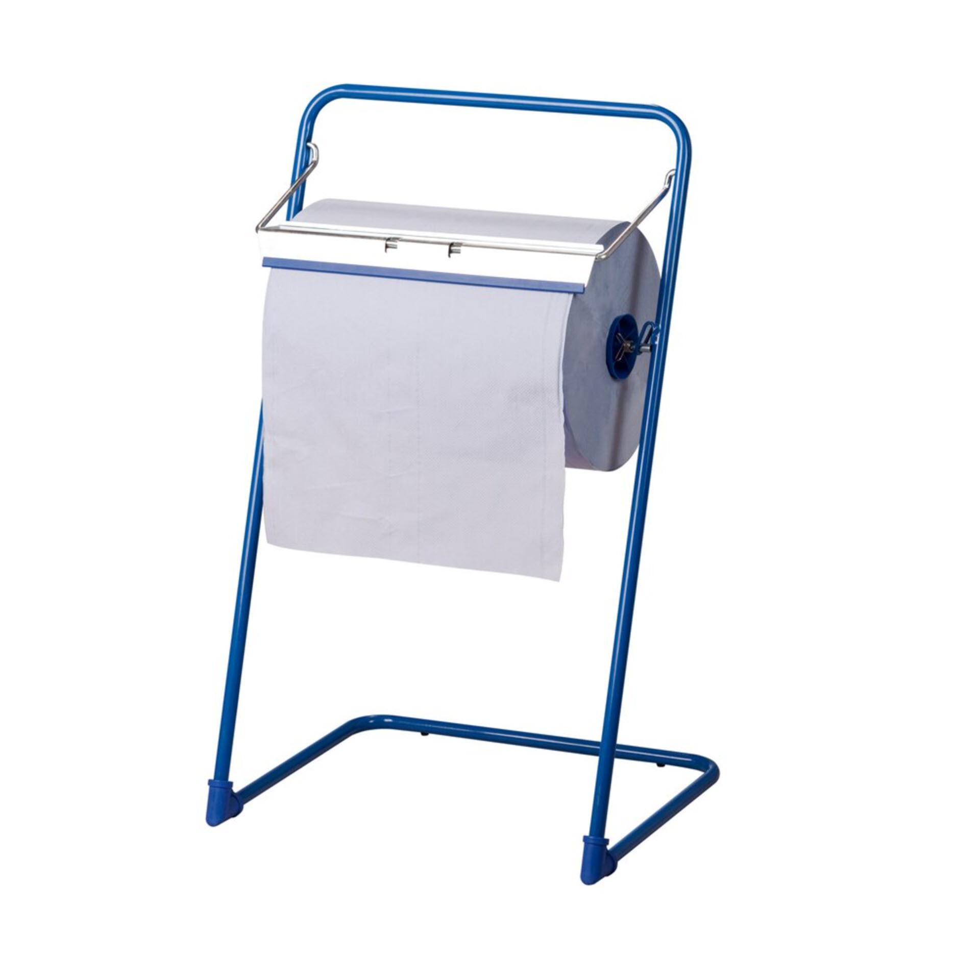 ELOS Industrial Floor Dispenser - Bodenständer Metall für Katrin Putzrollen bis 40 cm - 960641